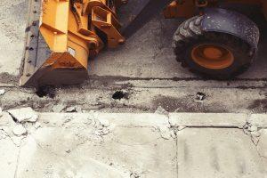 excavator, power shovel, digger